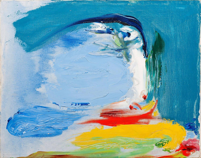 Asger Jorn:  TABU – DET URØRLIGE, 1961 Olie på lærred 40,3 x 50,6 cm